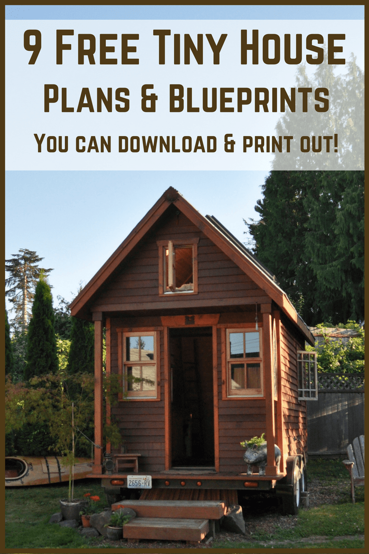 Tiny House Plans Free To Download Print Tiny House