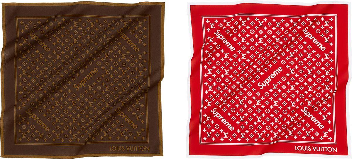 Louis Vuitton/Supreme Monogram Bandana Louis vuitton