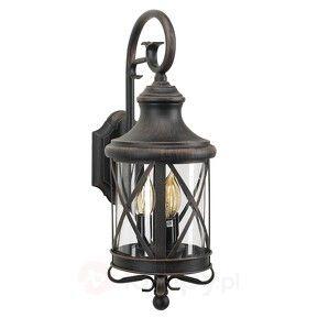 Rustykalna Lampa Scienna Zewnetrzna Romantica Outdoor Wall Lantern Rustic Wall Lighting Wall Lantern