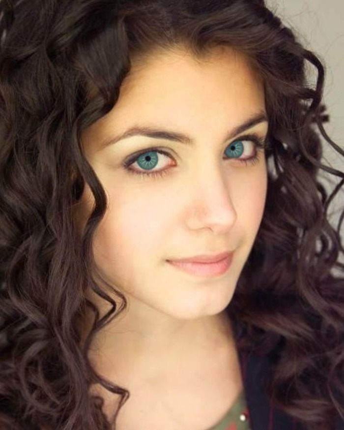 Dark Chocolate Brown Hair Color With Blue Eyes With Images
