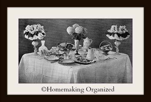 A Vintage Breakfast.  #breakfast #vintage