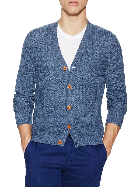 Trumaker Baldwin Cotton Cardigan | Men's Sweaters | Pinterest