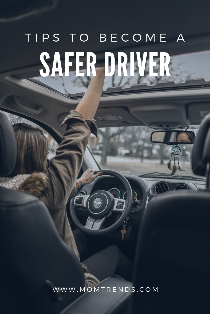 6 Tips To Help You Become A Safer Driver With Images Safe Driving Tips Tips Winter Driving Tips