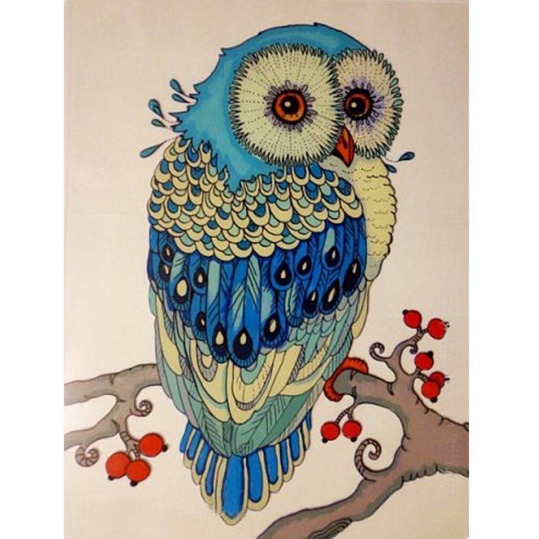 Full Drill DIY 5D Diamond Painting Embroidery Cross Craft Stitch Kit Decor C