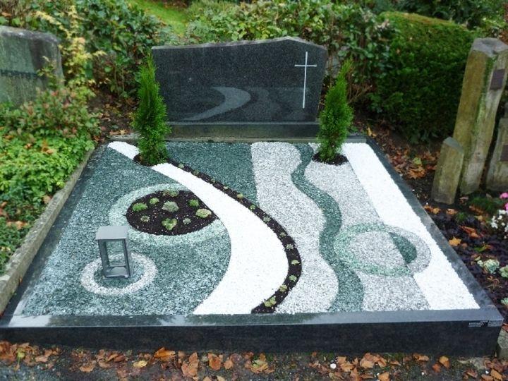 bildergebnis f r grabgestaltung mit steinen grabgestaltung pinterest grabgestaltung mit. Black Bedroom Furniture Sets. Home Design Ideas