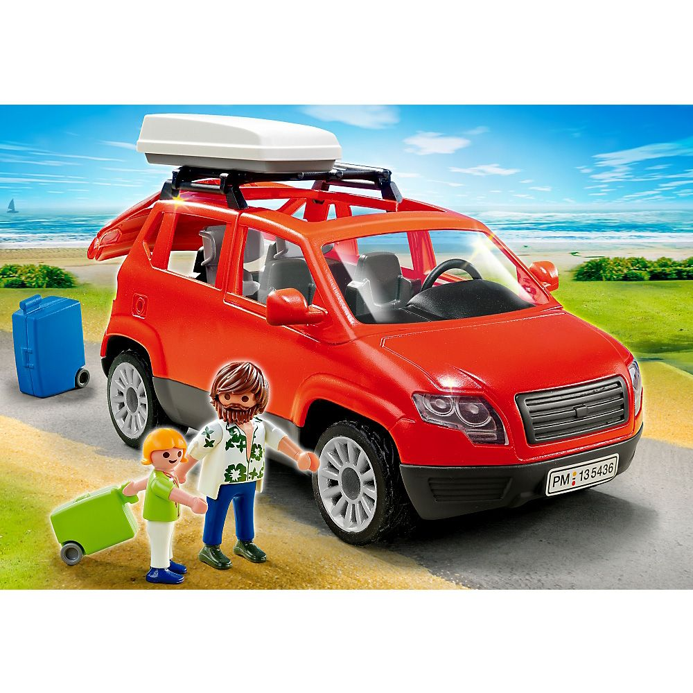 playmobil 5436 voiture avec coffre de toit playmobil 5436 vic pinterest coffre de toit. Black Bedroom Furniture Sets. Home Design Ideas