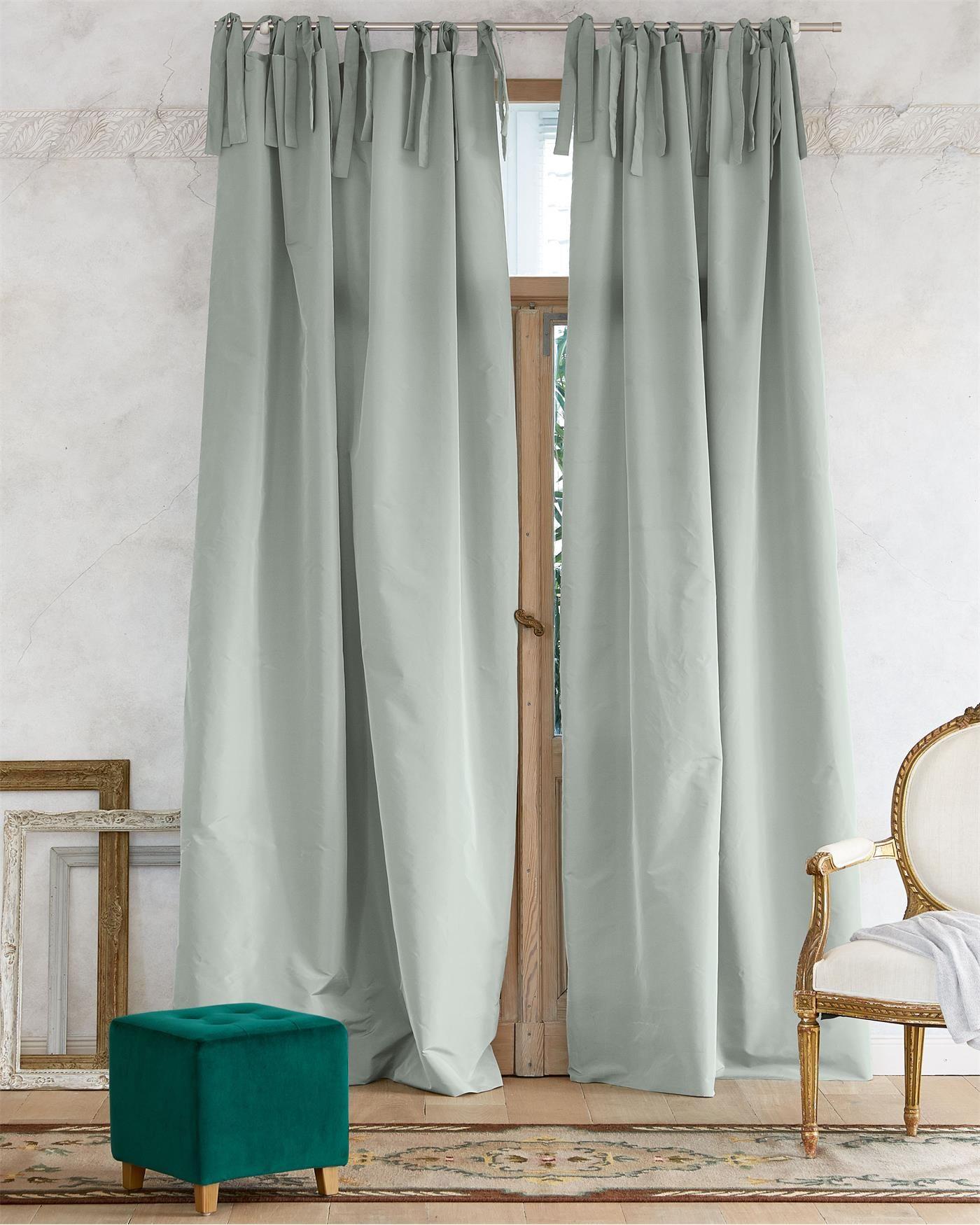Vossberg De vorhang water faux silk finden sie auf vossberg de deko