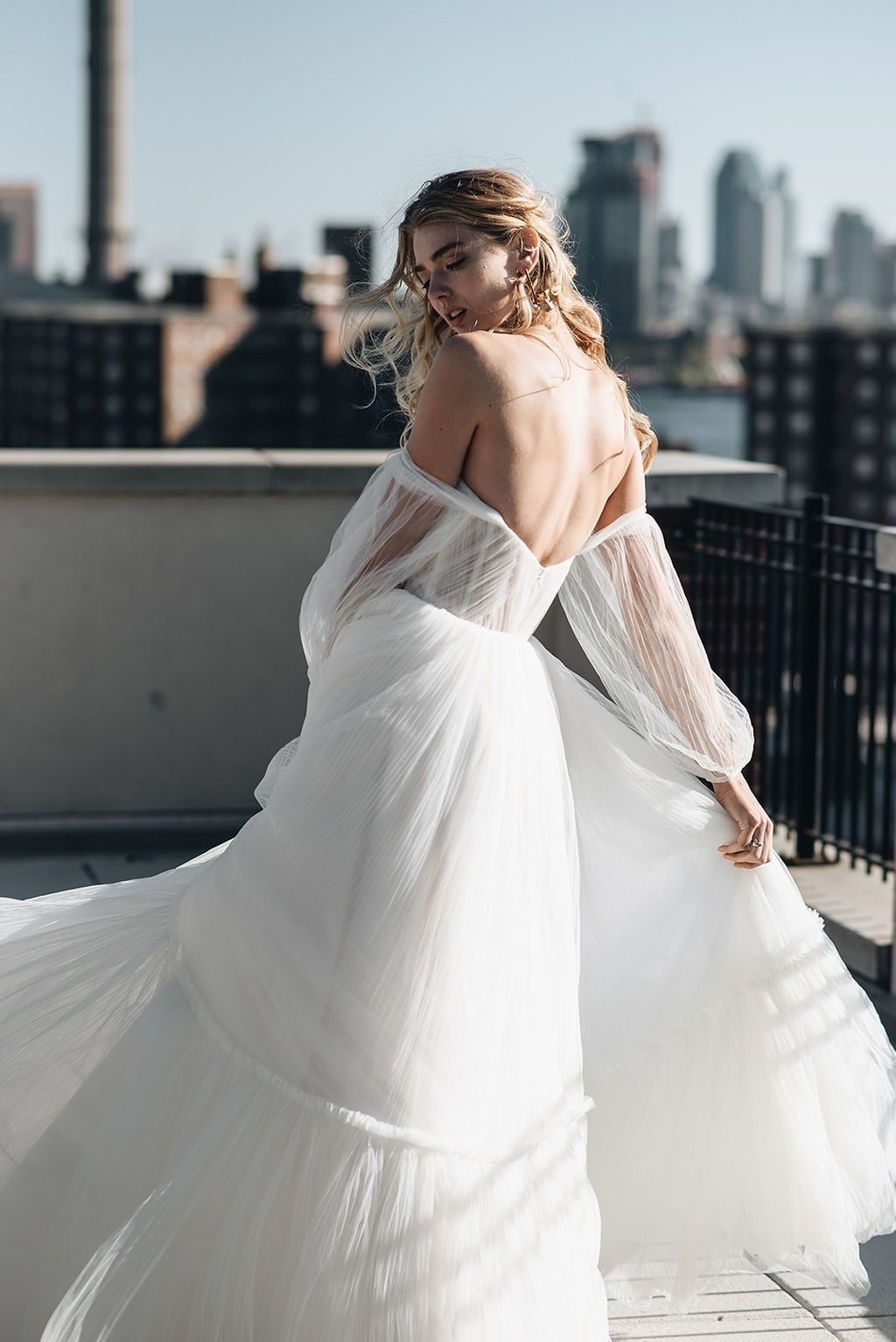 Alena Leena Bridal featured in NYC for the One Fine Day