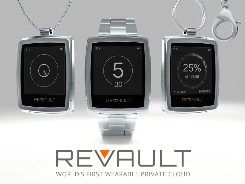 Our site has been updated! Visit http://Revault.io and register if you want to keep up and impact the world's first wearable private cloud! Securely access and sync all your data, across your devices, even without an internet connection.
