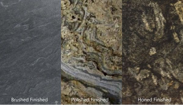 Polished Honed Or Brushed Finish On Granite What Is Your Choice Granite Countertops Come In A Variety Of Surfac Granite Choices Granite Granite Countertops