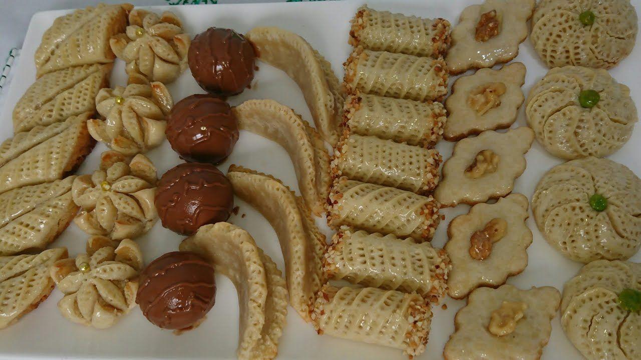 بنصف كيلو لوز حضرو بلاطو كبير من حلويات اللوز بأشكال متنوعة راقية و لذي Food Waffles Breakfast