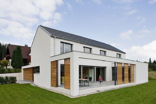 projekt j 26 kfw 40 haus lindenberg wohnen em 2018 pinterest varanda. Black Bedroom Furniture Sets. Home Design Ideas