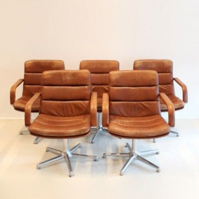 Located Using Retrostart.com U003e Channel Office Chair By Geoffrey Harcourt  For Artifort