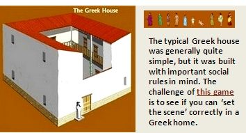 British Museum Game Challenge: The Greek House (Daily Life ...