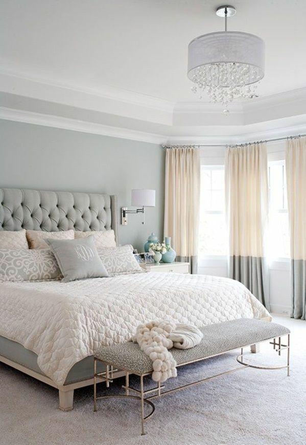Das moderne Schlafzimmer komplett gestalten Room Pinterest Bänke - moderne schlafzimmer farben