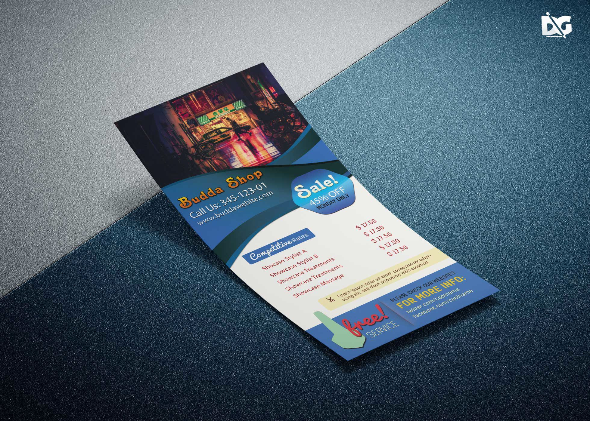 The Marvellous 010 Template Ideas Free Rack Card Stunning Ms Word Pages Pertaining To Free Rack Card In 2020 Rack Card Templates Rack Card Free Business Card Templates