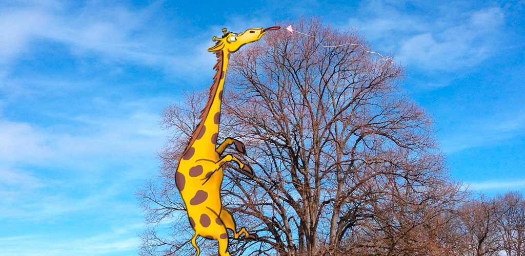 geri giraffe und der drache im baum › 1234rock  drachen