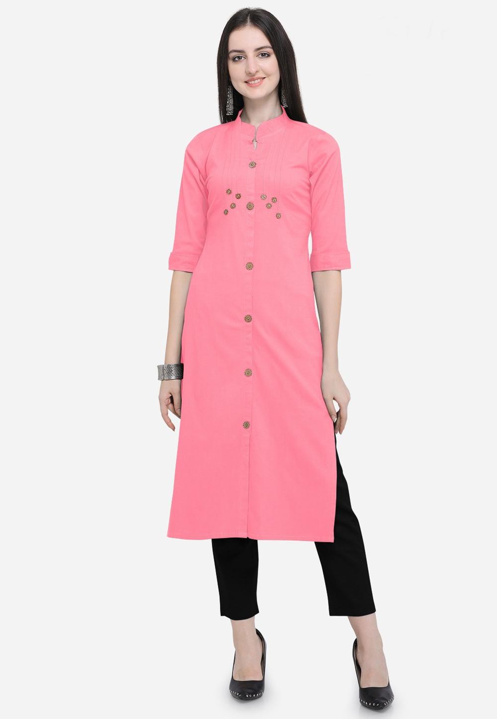 Indian Women Designer Partywear Ethnic Traditonal Readymade Kurti.