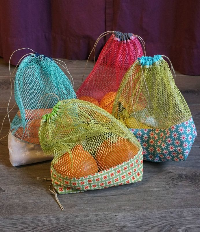 """Résultat de recherche d'images pour """"sac a provision filet couture"""""""""""
