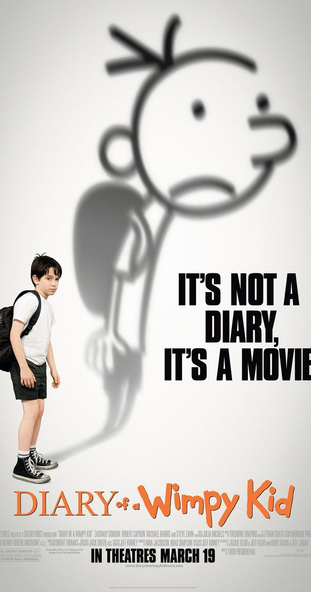 Diary Of A Wimpy Kid Hard Luck Movie Poster