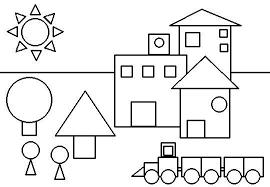 Resultado De Imagen Para Figuras Geometricas Para Ninos Figuras Geometricas Para Ninos Dibujos De Figuras Geometricas Actividades De Figuras Geometricas