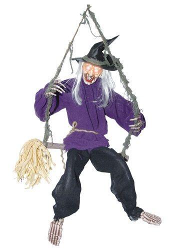 Kicking Witch on Swing