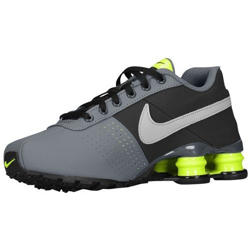 7055e47994e Nike Shox Deliver - Boys  Grade School - Running - Shoes - Dark Grey Wolf  Grey Black Volt