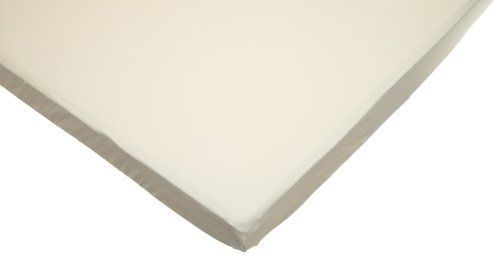 American Baby Company 100% Cotton Value Jersey Knit Fitted Portable/Mini Sheet Ecru