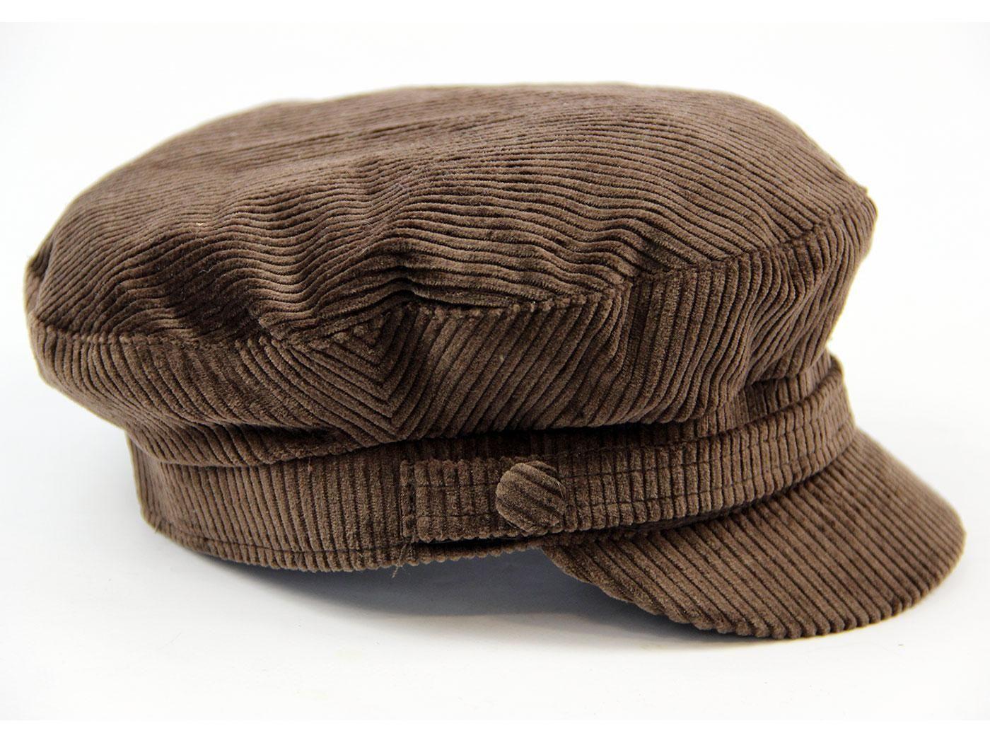 71d6f0ec4cab6d Beatle MADCAP ENGLAND Retro Cord Lennon Hat (DB) in 2019 | fashion ...