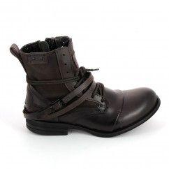 Botte et bottine BUNKER Boots Horma Sara Marron Cuivre ndIsfa