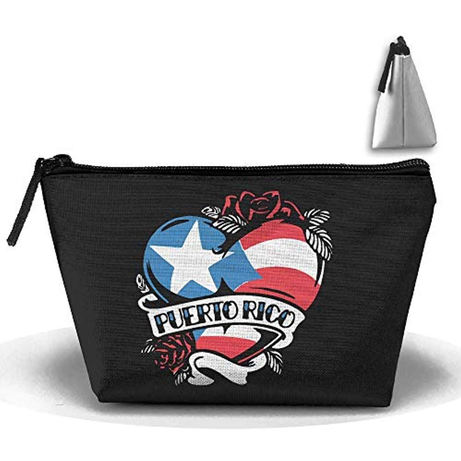 Louise Morrison Puerto Rico Tattoo Heart Flag Pen