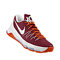 best service b2fe5 58cd2 I designed the maroon, orange and white Virginia Tech Hokies Nike women s  basketball shoe.