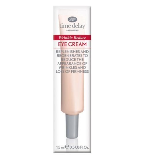 Boots Time Delay Wrinkle Reduce Eye Cream 15ml | Do ...