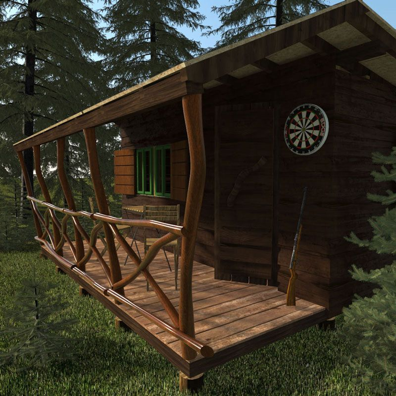 Simple Small Cabin Plans Bettie