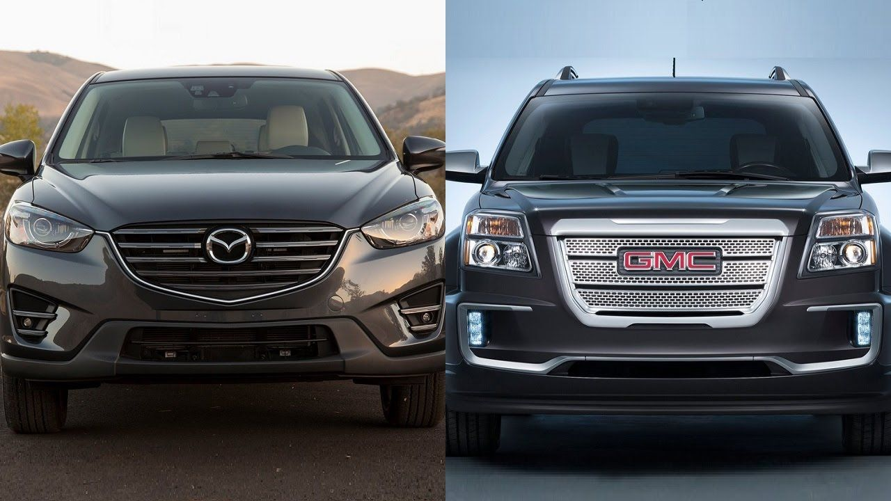 2016 Mazda Cx 5 Vs 2016 Gmc Terrain Http Youtube Com