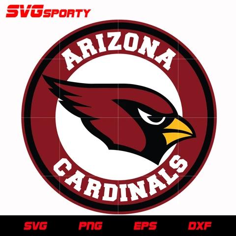 Arizona Cardinals Circle Logo Svg Nfl Svg Eps Dxf Png Digital File Arizona Cardinals Arizona Cardinals Football Arizona Cardinals Logo