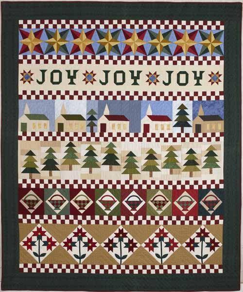 Christmas Joy Block of the Month LQK1703