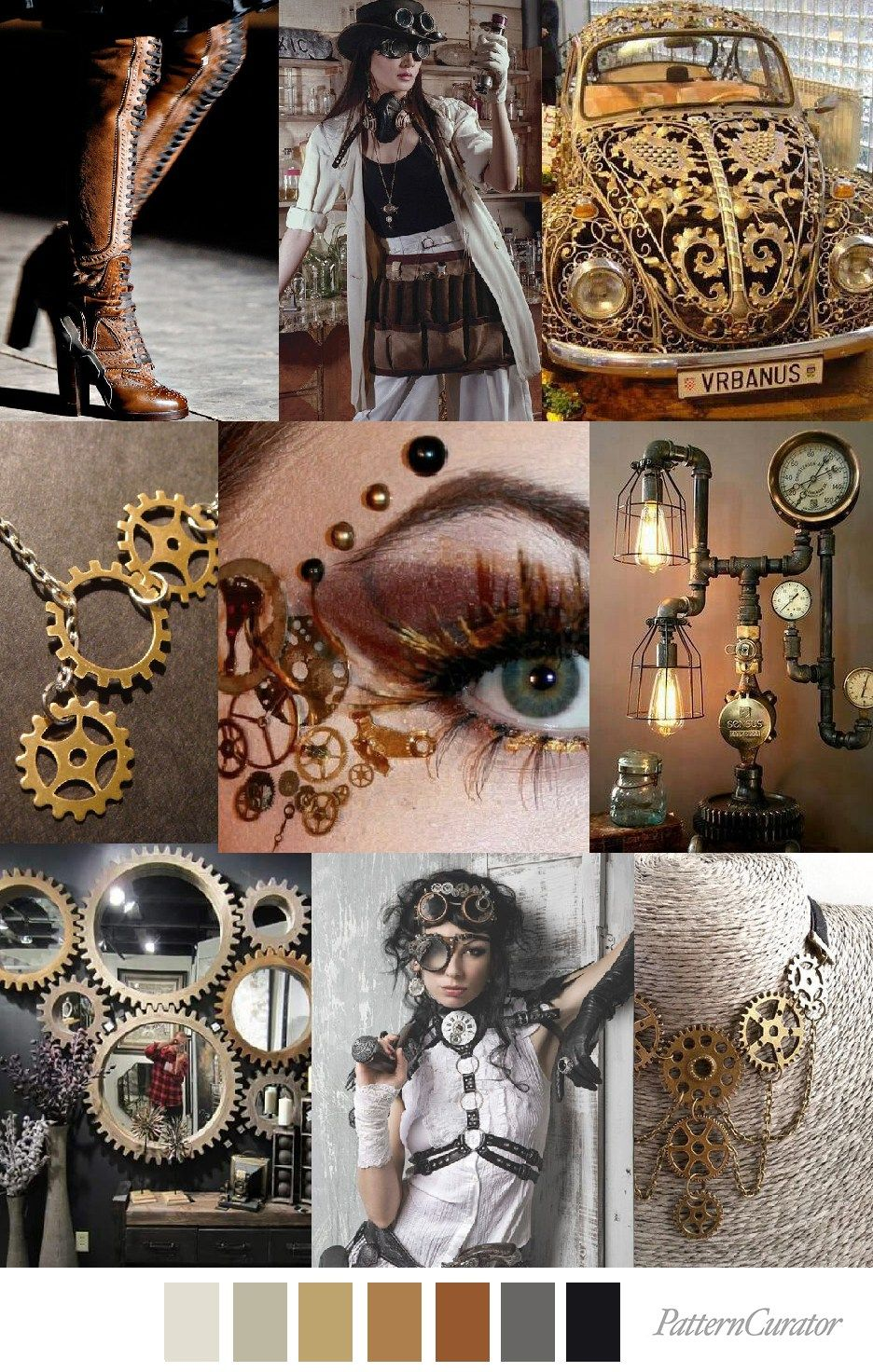 Pin on Steampunk/Goth reference.