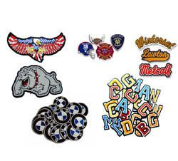 Embroidered, Embroidery and Chenille Patches for Varsity Jackets USA, UK, Canada and Australia