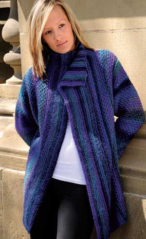 Weekend Jacket Pattern An Easy Beginner Project Knit In