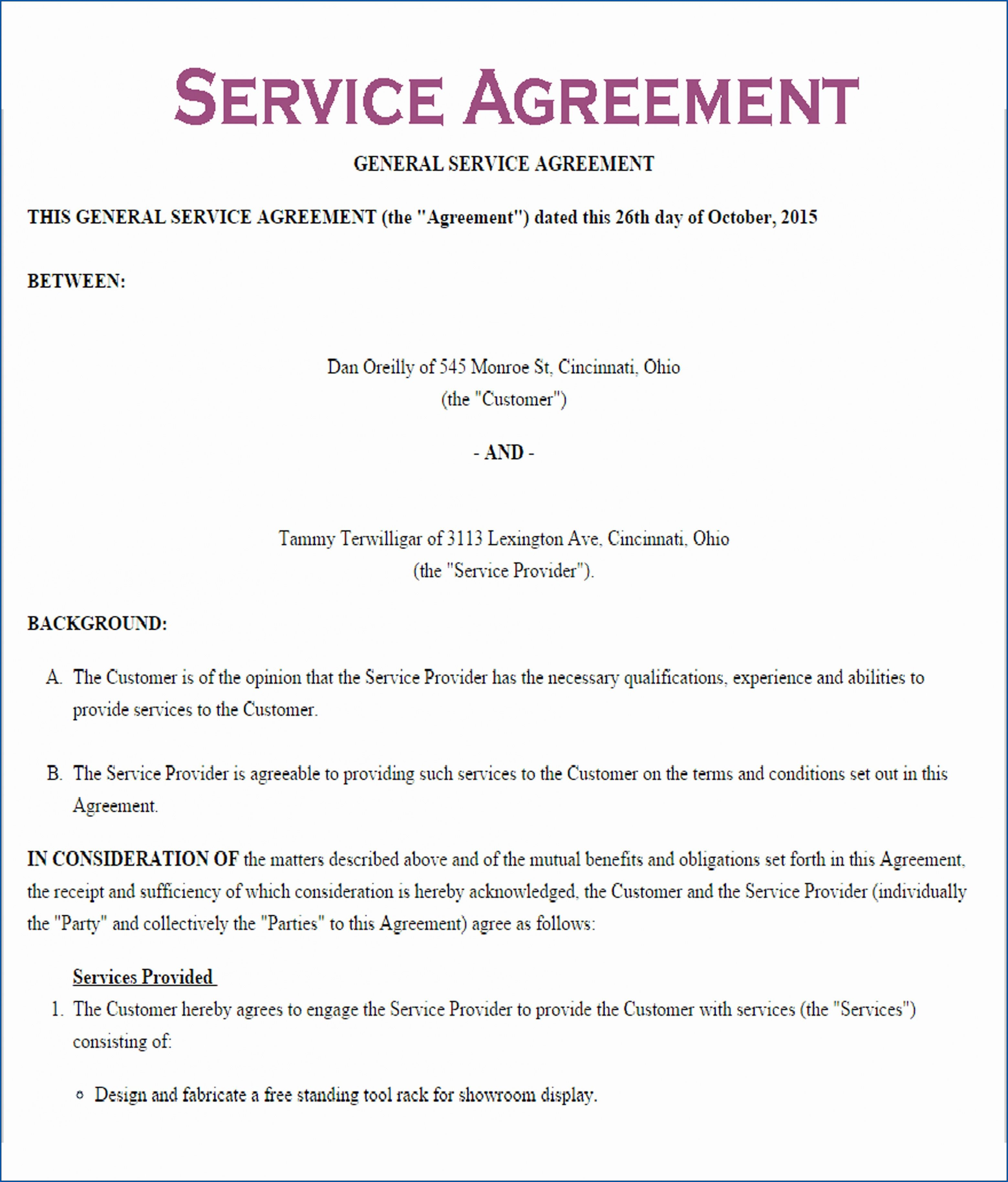 Explore Our Sample Of Air Conditioning Service Contract Template Contract Template Essay Prompts Service Level Agreement