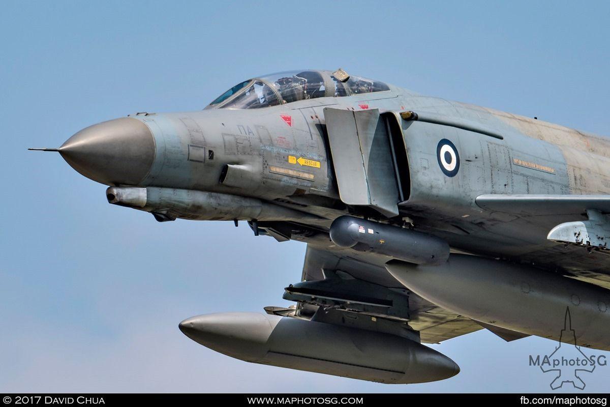 Hellenic F-4E Phantom II ⋆ MAphotoSG   Hellenic air force ...