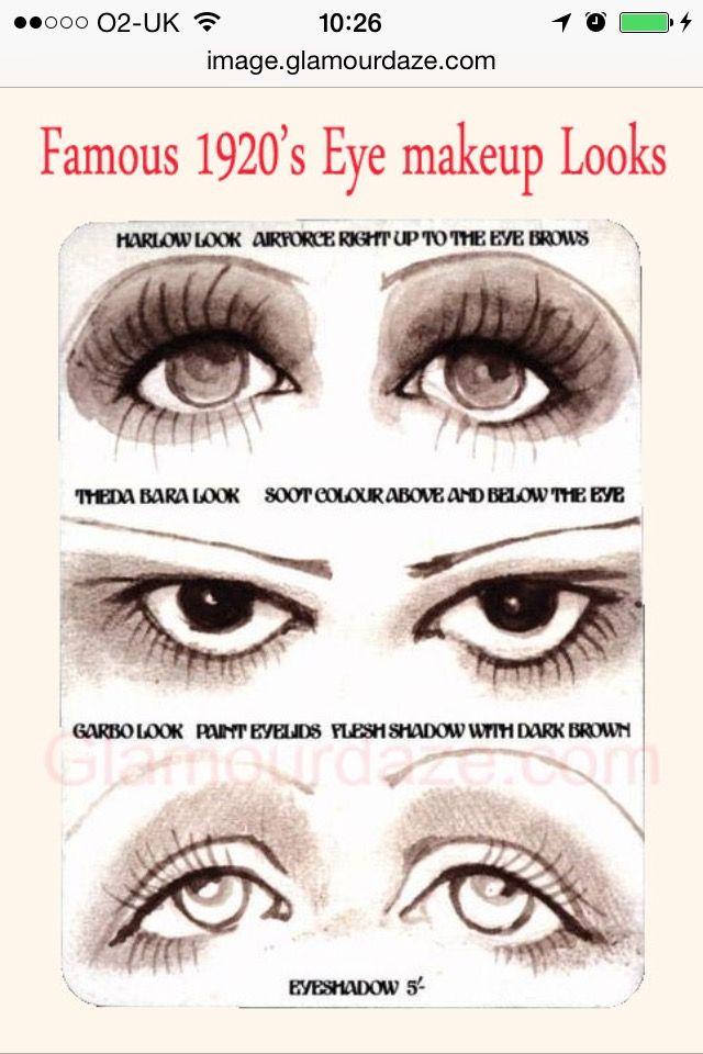 How to 1920's Makeup Daniel Sandler: Flashback 1920's Makeup http ...