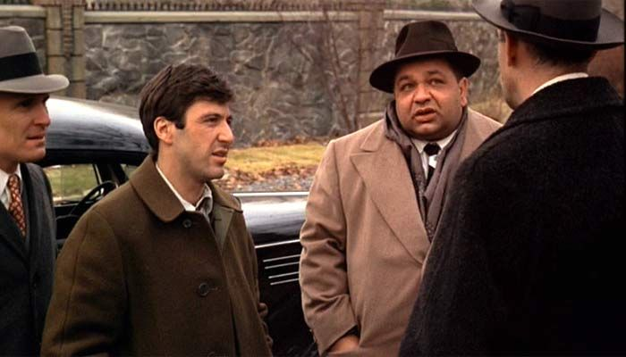 """Clemenza: """"What's with all the new faces?"""" Tessio: """"We'll ..."""