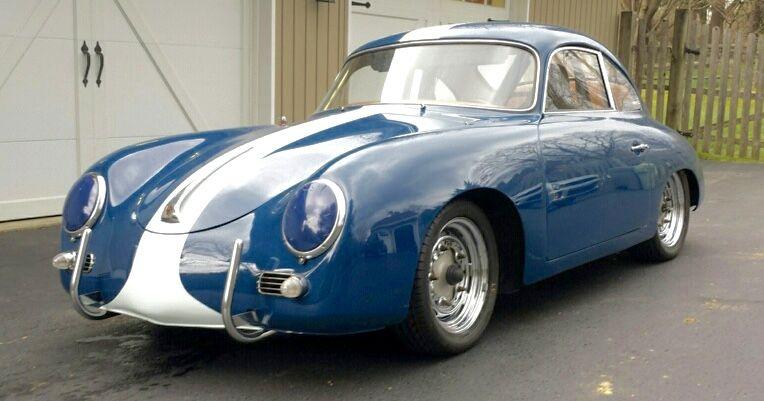 1958 Porsche 356 A Coupe (Vintage Race Car)