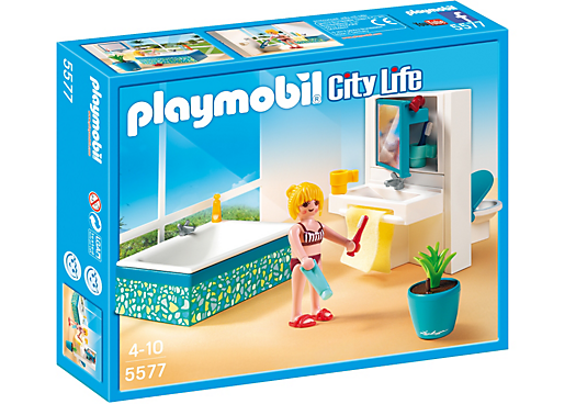 Modern Bathroom - 5577 - PLAYMOBIL® USA | kids | Pinterest ...