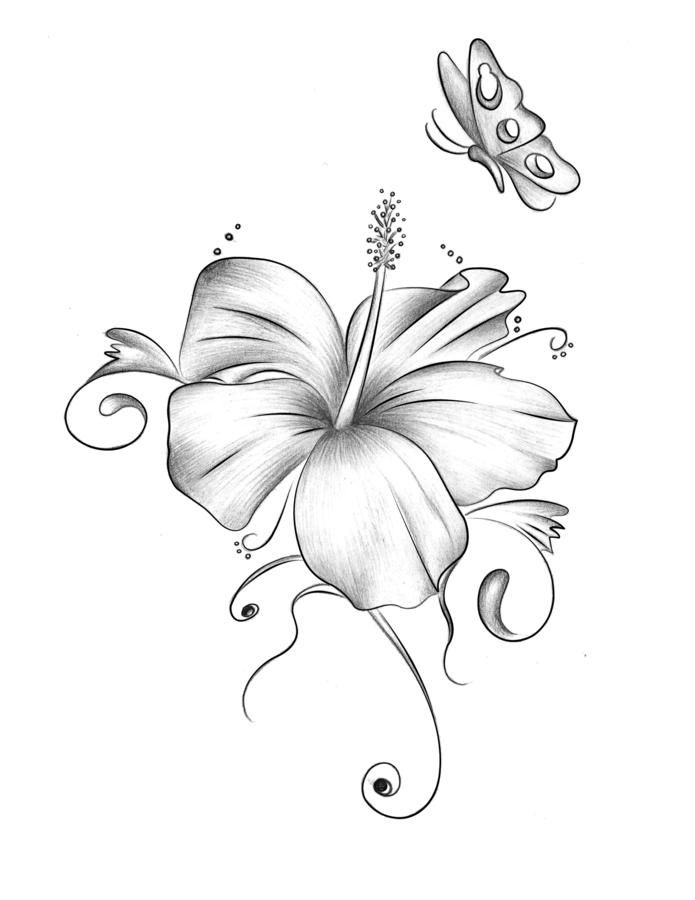 Flower Tattoo Designs Flower Tattoo Designs Hibiscus Tattoo