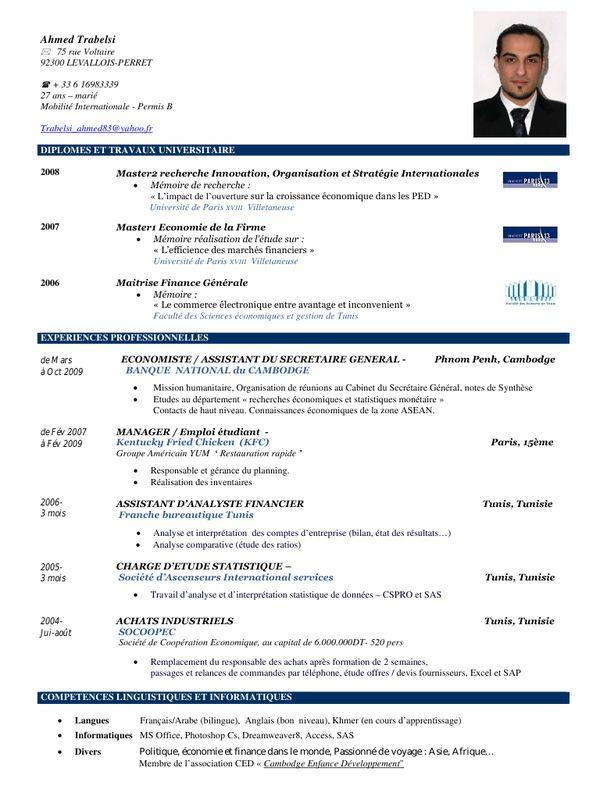 Cv Corporate Finance Anglais Cv Finance Finance Modele Cv
