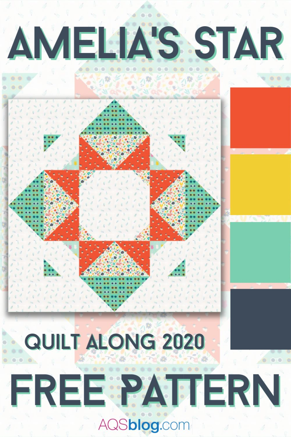 Amelia's Star Quilt Along