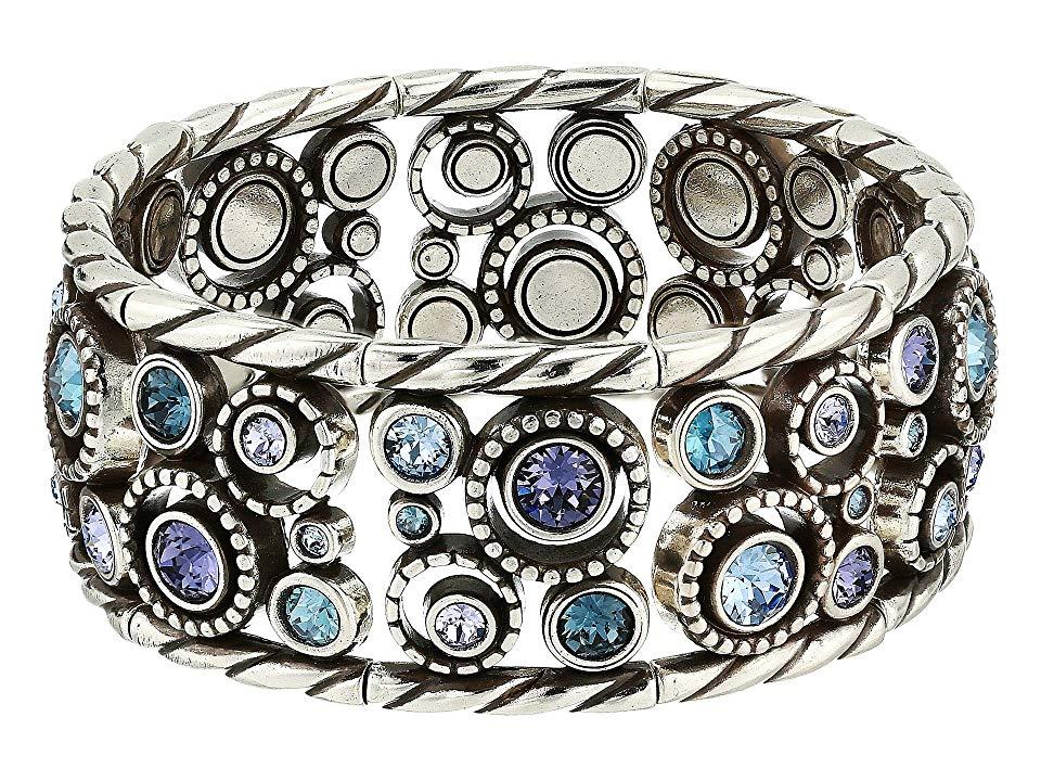 Brighton Halo Stretch Bracelet Tanzanite Brighton Jewelry Bracelets Stretch Bracelets Bracelets
